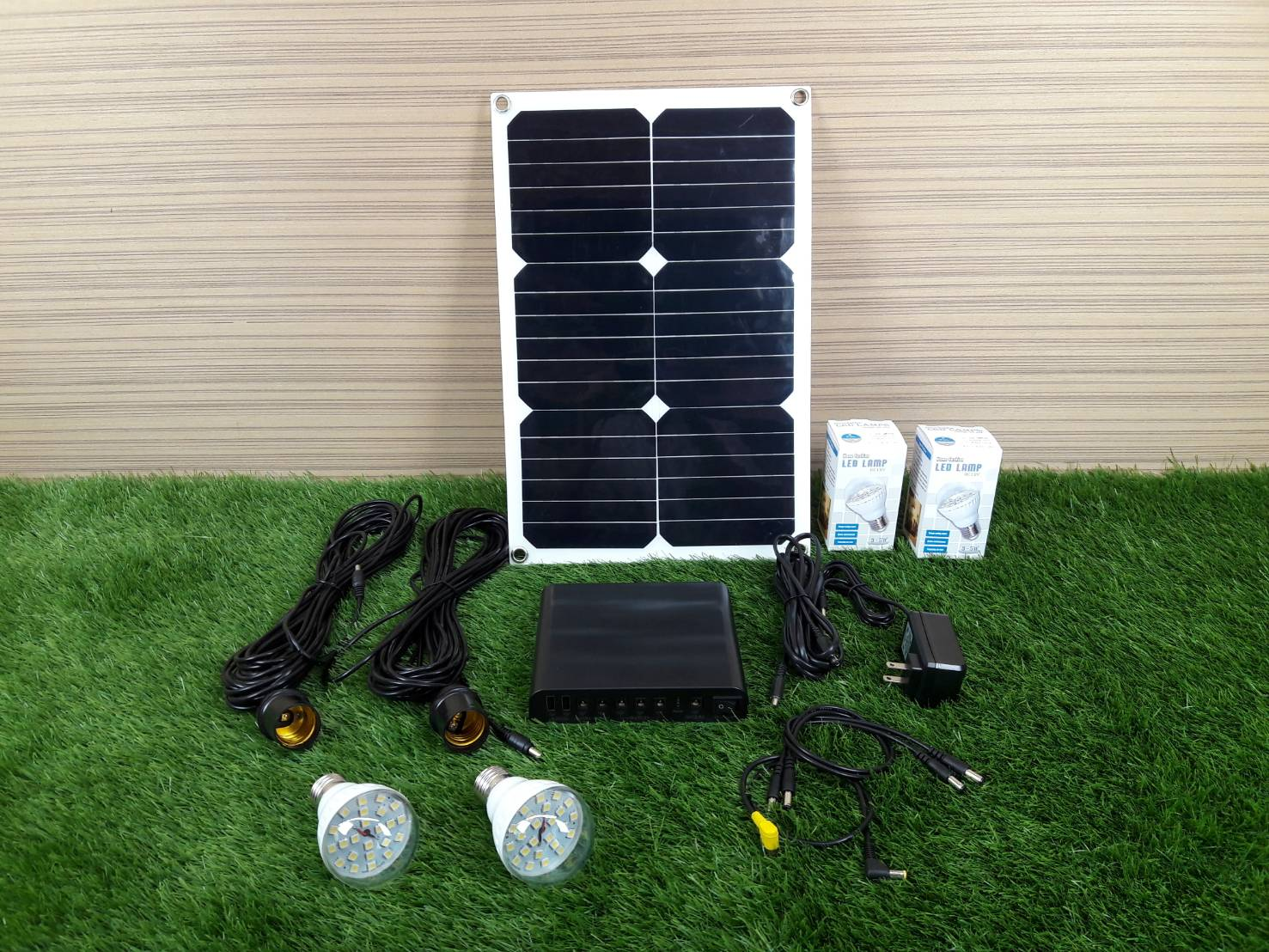 Solar Energy Box 12000Mah 3.7v