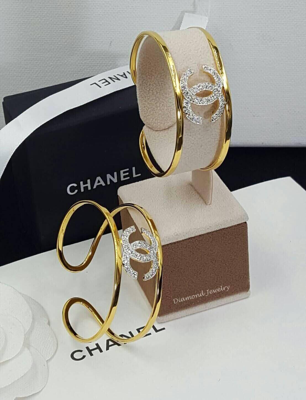 พร้อมส่ง กำไลข้อมือ Chanel งานทอง 5 ไมครอน