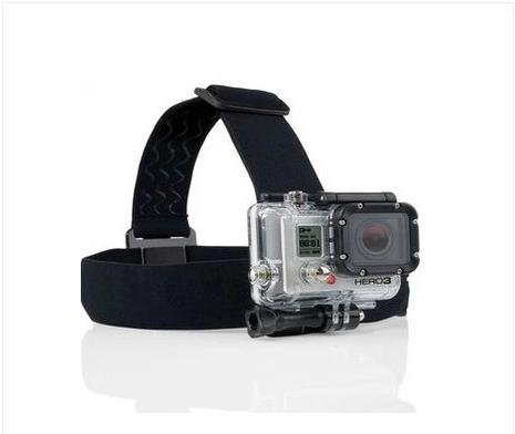 ผ้าพันหัว ใช้กับกล้องGoproใช้งานการดำน้ำเล่นสกี