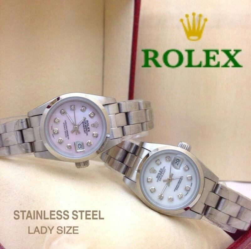 Rolex datejust สายเต้าหู้ งานสแตนเลสแท้ Auto เรือนละ 1690 บาท หน้าปัด 27 mm.