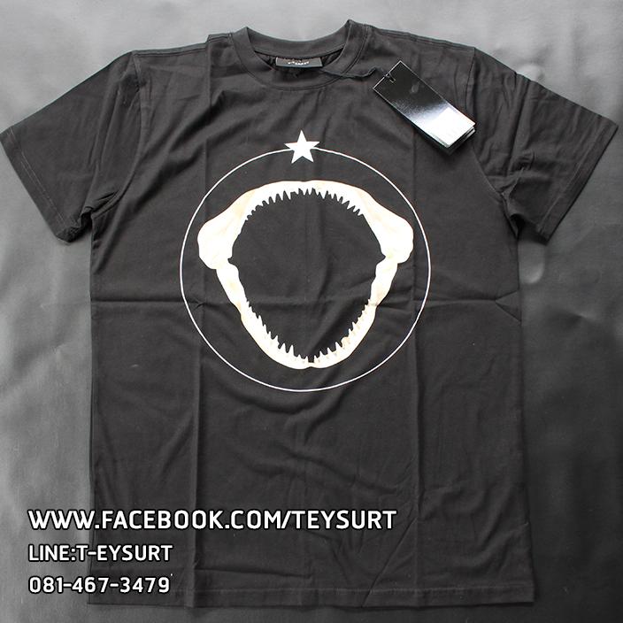 เสื้อGIVENCHY SHARK TEETH T-SHIRT [เทียบแท้]