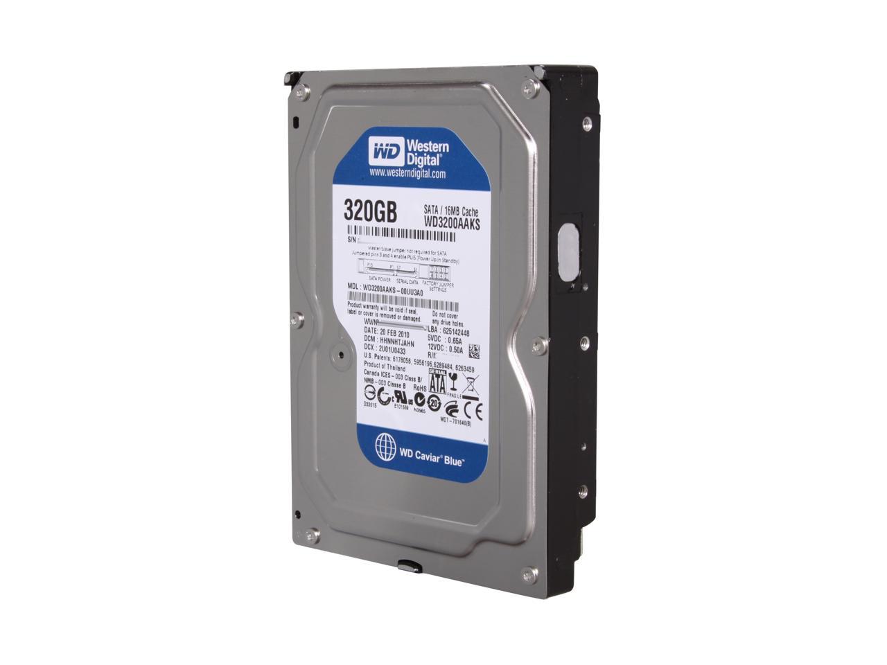 [HDD] 320G/7200/32M,16M SATA 3 PC คละยี้ห้อ