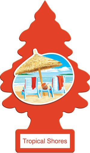 กลิ่น Tropical Shores เพลิดเพลินกับวันหยุดบนเกาะที่สมบูรณ์แบบ ด้วยส่วนผสมของผลไม้เมืองร้อนและอากาศทะเลที่สดชื่น