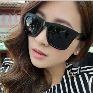 แว่นตากันแดดแฟชั่นเกาหลี กรอบดำด้าน
