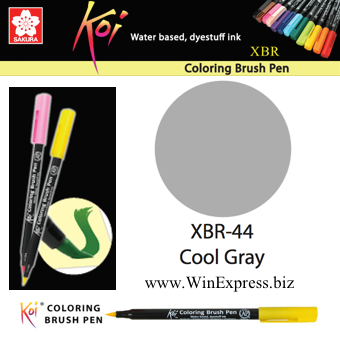 XBR-44 Cool Gray - SAKURA Koi Brush Pen