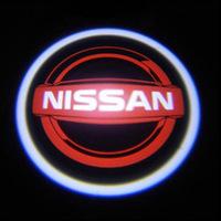 ไฟโลโก้ส่องพื้น Nissan