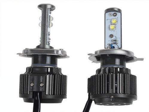 ไฟหน้า LED ขั้ว H4 Cree 4 ดวง 40W Turbo V16