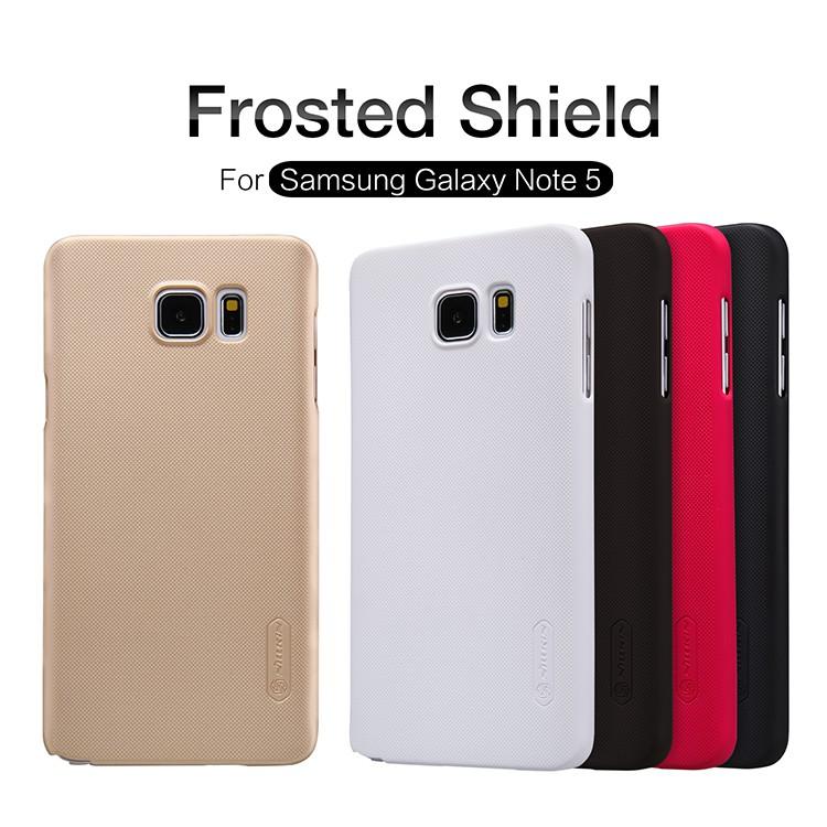 เคส Samsung Galaxy Note 5 ของ Nillkin Super Frosted Shield Case +ฟิล์มกันรอย