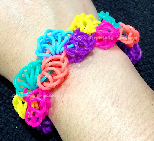 Loom Bands สี Rainbow