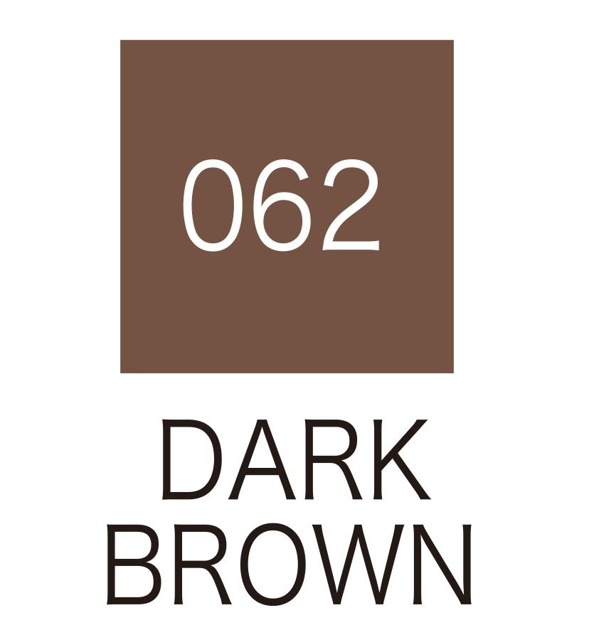 ปากกาสี 2 หัว ZIG CLEAN COLOR No.062 - Dark Brown