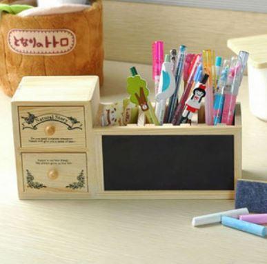 กล่องไม้ + กระดานดำ น่ารักสุดๆ