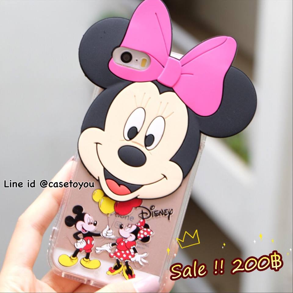 Superstar Minnie Mouse หัวโต iPhone 5/5S/SE