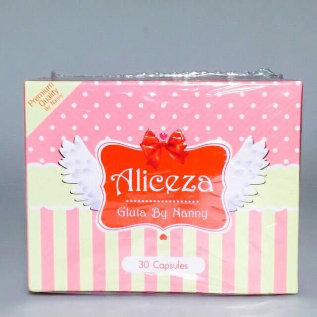 Aliceza Gluta By Nanny เอลิซซ่า กลูต้า บาย แนนนี่ 1 กล่อง 30 เม็ด