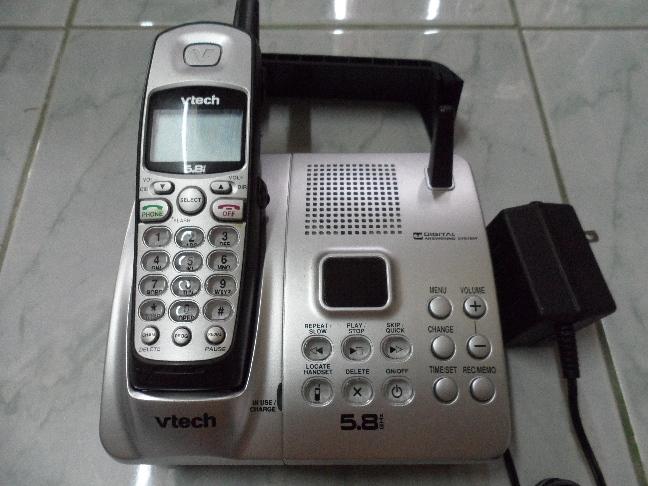 โทรศัพท์บ้านไร้สาย Vtech (สินค้ามือสองสภาพดี) อเมริกา