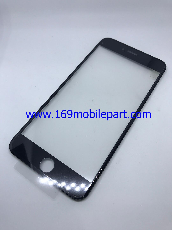 กระจก iPhone 6S Plus พร้อมขอบจอ + กาว OCA สีดำ