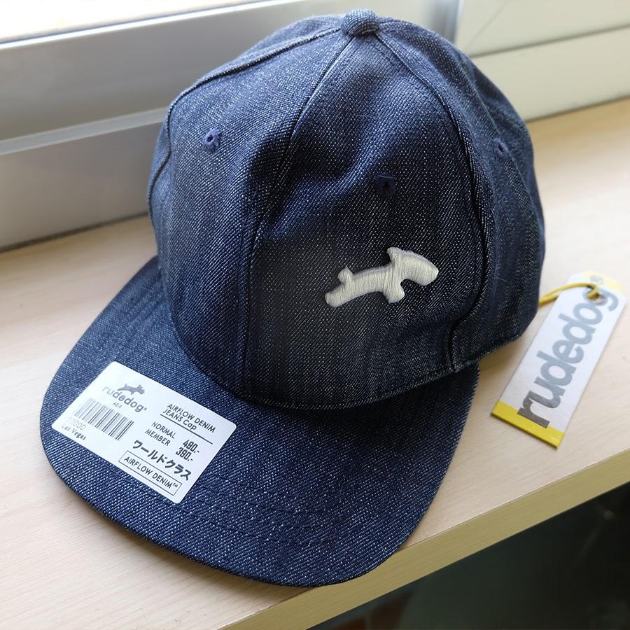 หมวกยีนส์ RUDEDOG ปักขาว