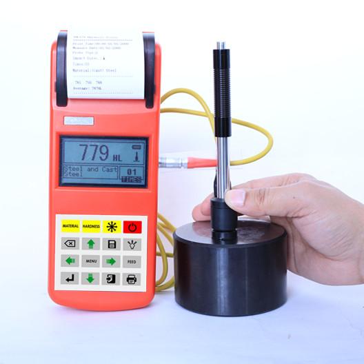 เครื่องวัดความแข็ง แบบลีบ มีปริ้นเตอร์ในตัว (Leeb rebound hardness test with printer) ยี่ห้อ TMTECK รุ่น THL370 ราคา โปรโมชั่น