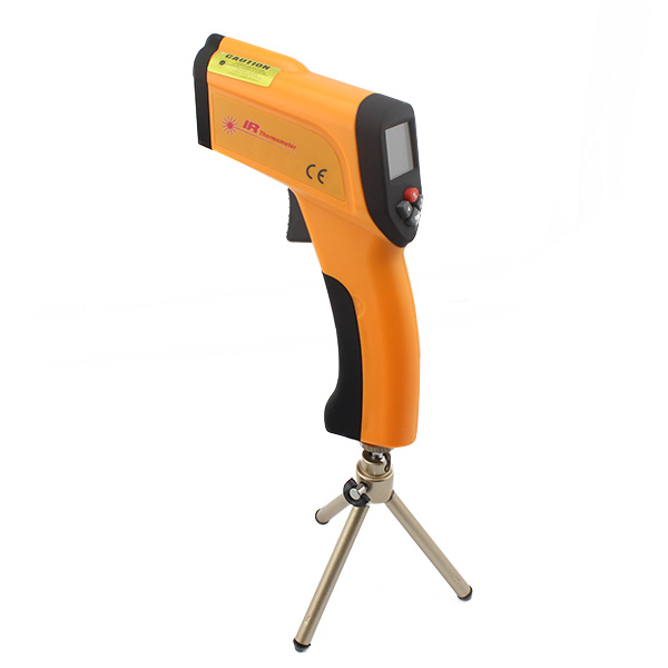 ปืนยิงวัดอุณหภูมิ เครื่องวัดอุณหภูมิแบบอินฟราเรด ปินวัดอุณหภูมิ -50~+1600℃ infrared Thermometer ยี่ห้อ XINTEST รุ่น HT-6889