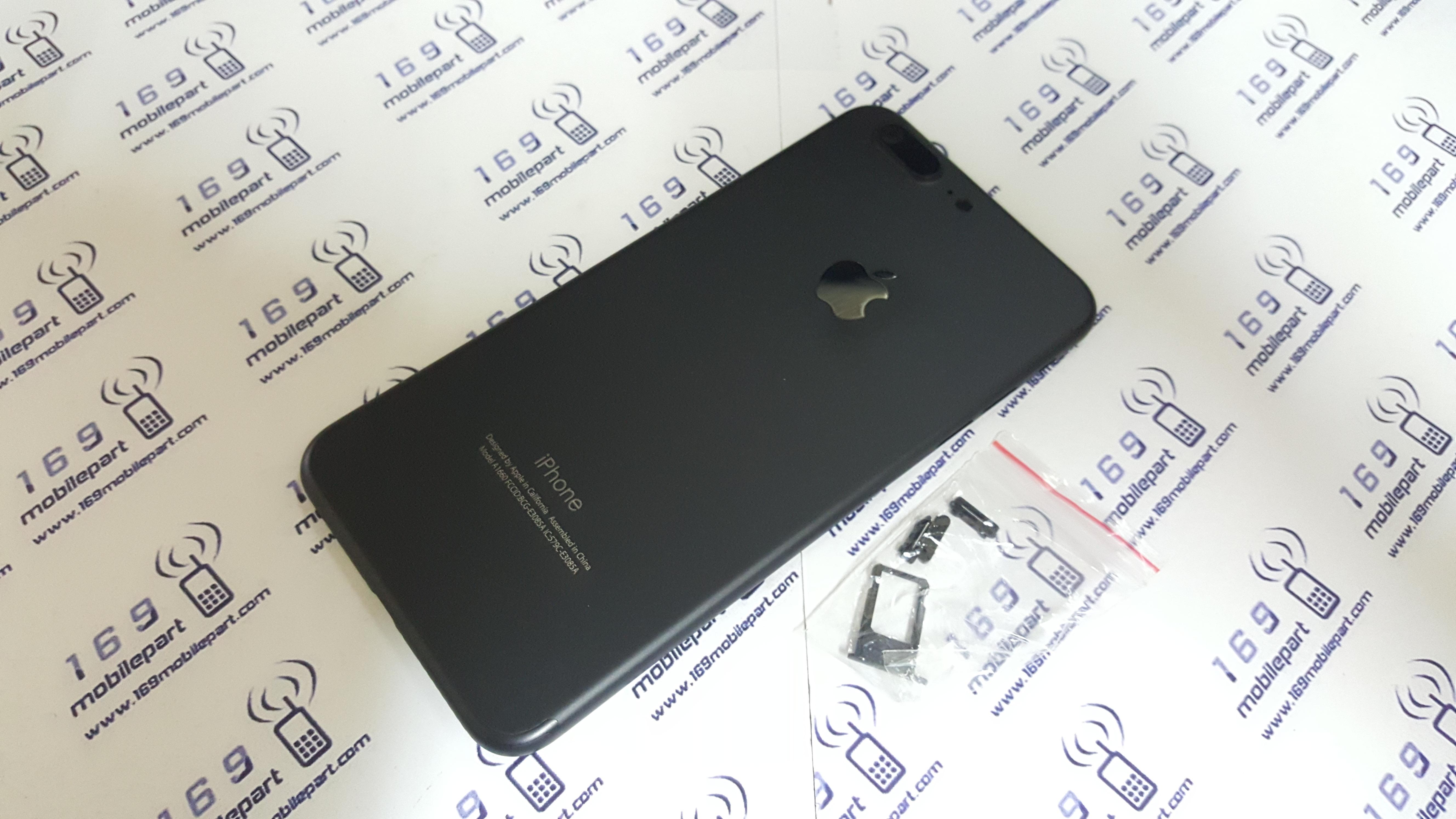 บอดี้ iPhone 6S Plus แปลง i7 Plus สี Jet-Black