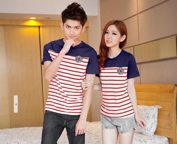 เสื้อคู่รัก สไตล์เกาหลี รหัส x8055