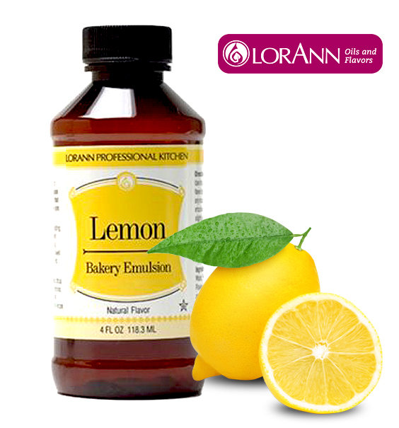 LorAnn Lemon bakery Emulsion 4 Oz.