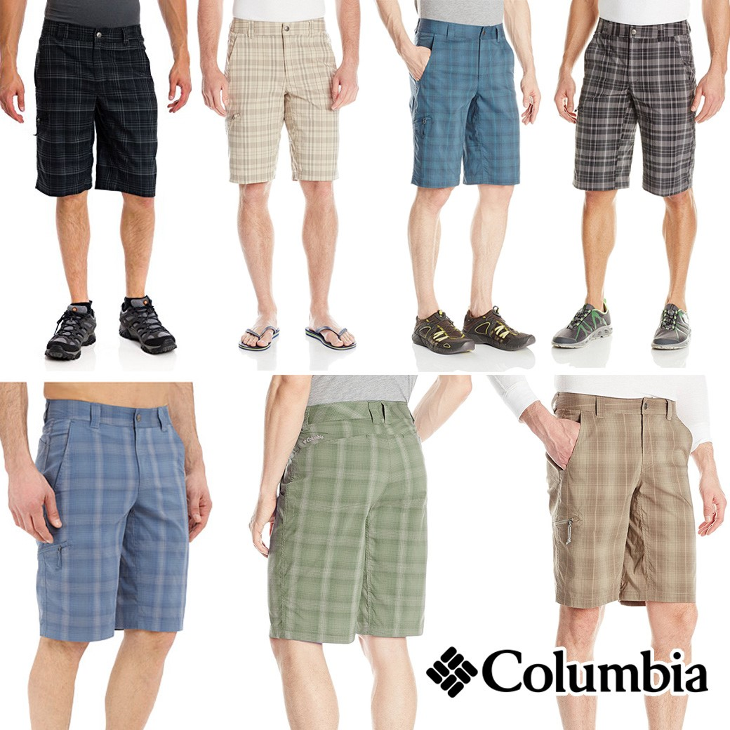 COLUMBIA COOL CREEK PLAID SHORTS