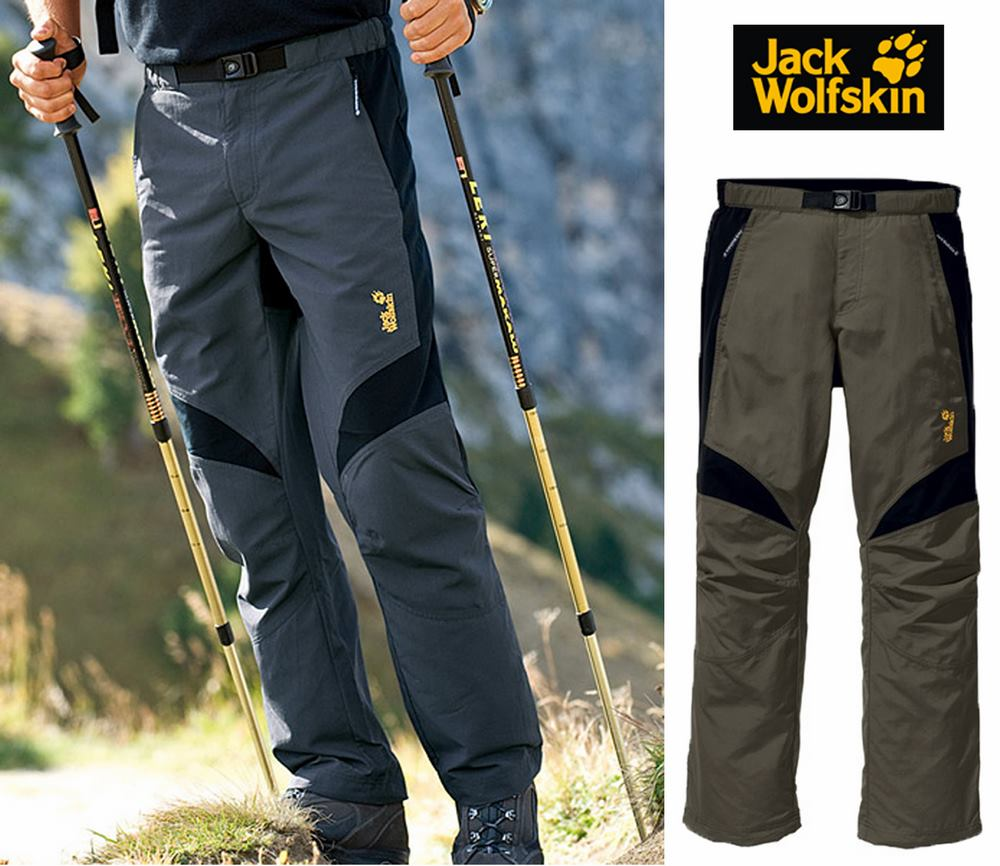 Jack Wolfskins Men's Vertec Stretch Pant