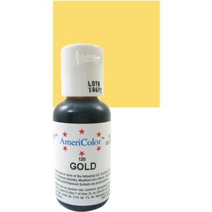 Ameri Color Gold Soft Gel Paste 0.75 oz