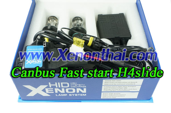 ไฟXenon kit H4Slide Canbus AC35W Fast start