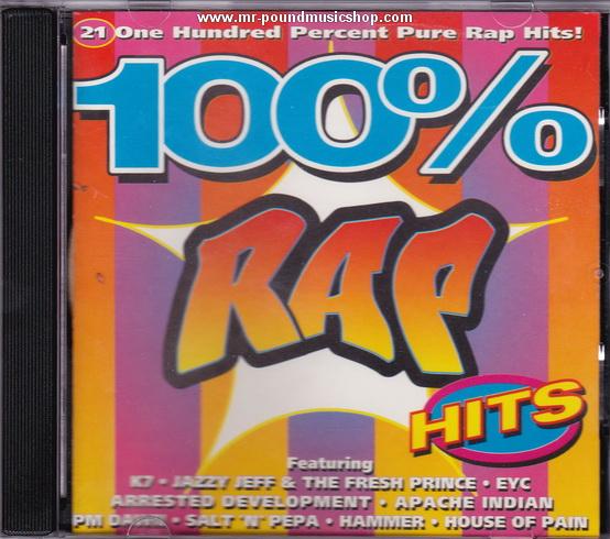 Various Artists - 100% Rap