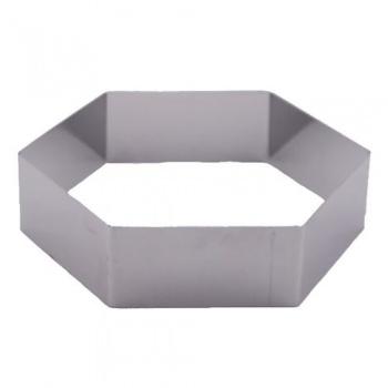 Matfer octagon ring mousse 18x14 cm 372420