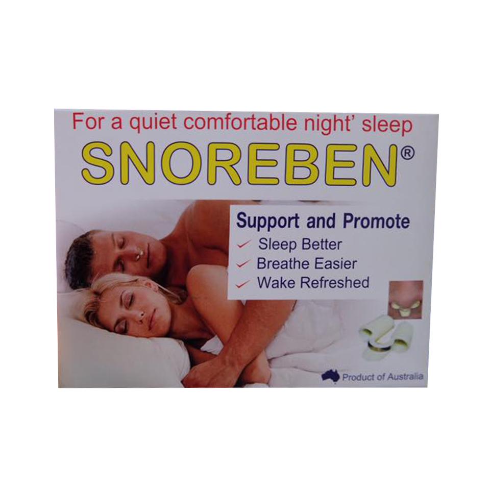 Snoreben สนอรเบน บรรจุ 1 ชิ้น/กล่อง ราคา 280 บาท ส่งฟรี