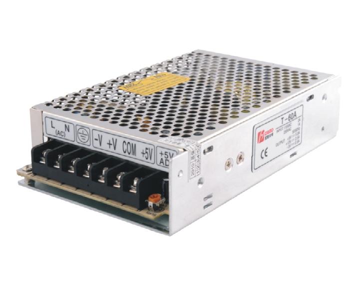 T-60W 3Chanel Switching power supply 12V/5V/-5V.