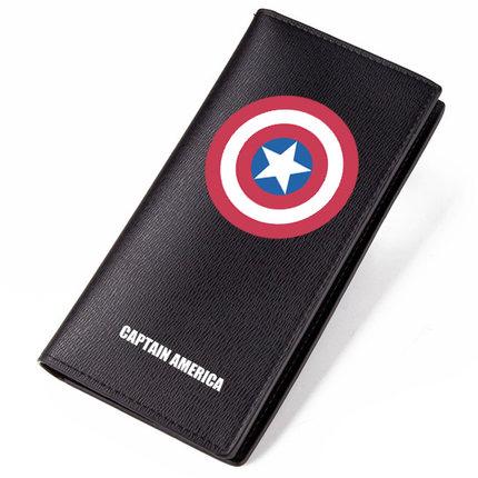 Preorder กระเป๋าสตางค์ กัปตันอเมริกา[PU] แบบ 4