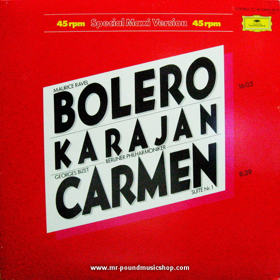 Herbert Von Karajan Und Die Berliner Philharmoniker - Bolero Carmen Karajan
