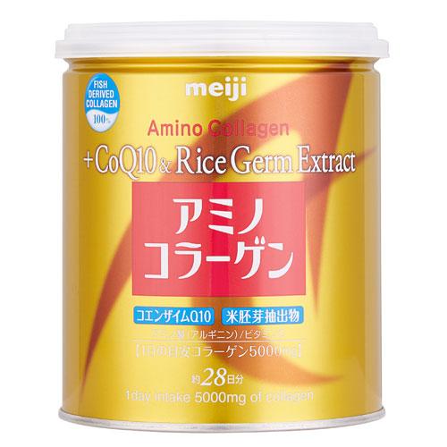 Meiji Amino Collagen + Coq10 Rice Germ Extract 200g. ราคา 1,225 บาท ส่งฟรี