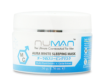 NUMAN Aura white sleeping mask