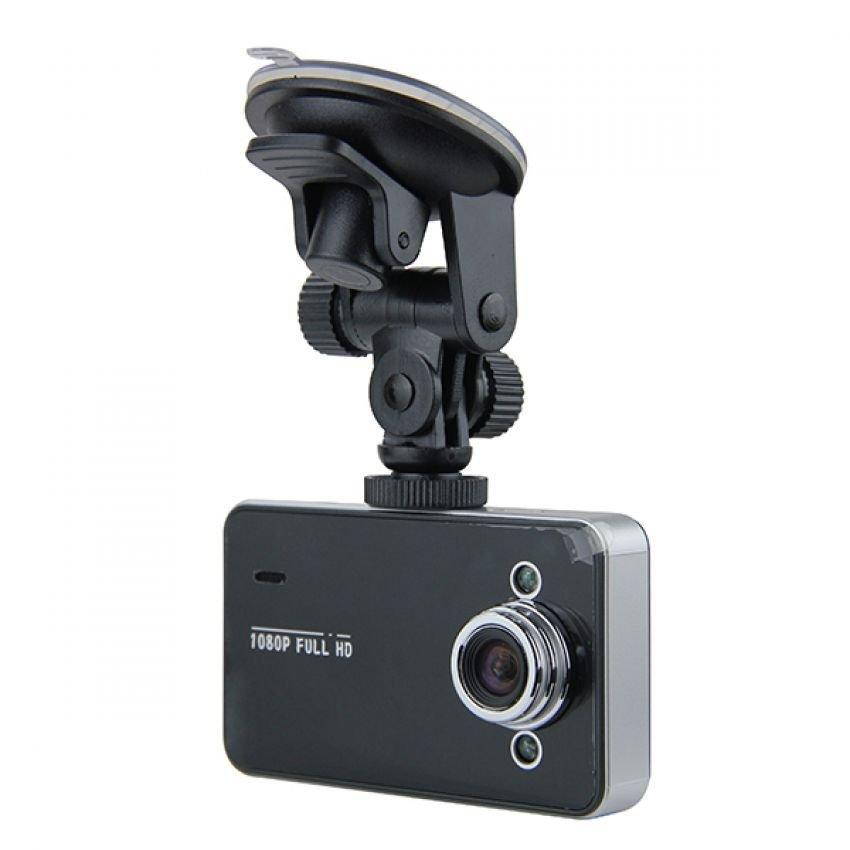 POST-TECH กล้องติดรถยนต์ FHD รุ่น K6000 (สีดำ)