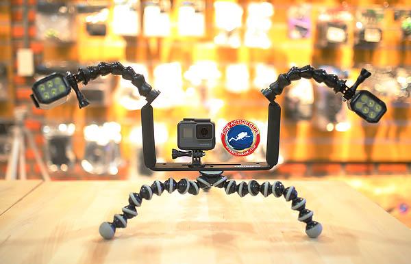 เช่า : กล้อง GoPro Hero5 Black พร้อมชุดไฟฉาย Freewell Underwater สำหรับถ่ายใต้น้ำ ครบเซ็ต พิเศษ 800บาท/วัน
