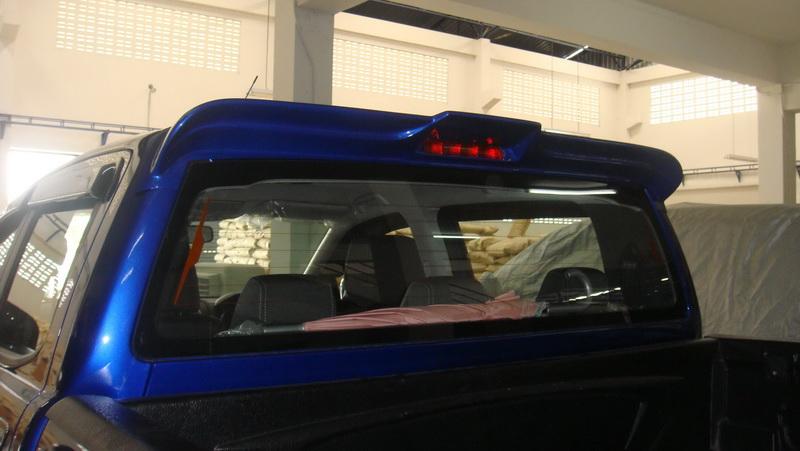 Rear Spoiler Ford Ranger สปอยเลอร์ ฟอร์ด เรนเจอร์ 2012