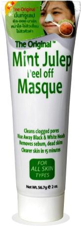 ลด 16 % QUEEN HELENE :: The Original Mint Julep Peel Off Masque มาส์กมิ้นต์สูตรลอกสิวเสี้ยน เย็นสดชื่นจากโคลนธรรมชาติ ช่วยขจัดสิวเสี้ยน สิวหัวดำ