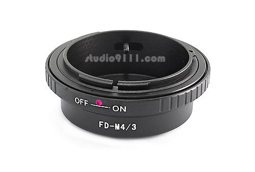 อแดปเตอร์แปลงท้ายเลนส์ CANON FD ใช้กับกล้อง M4/3 (OLYMPUS, PANASONIC)