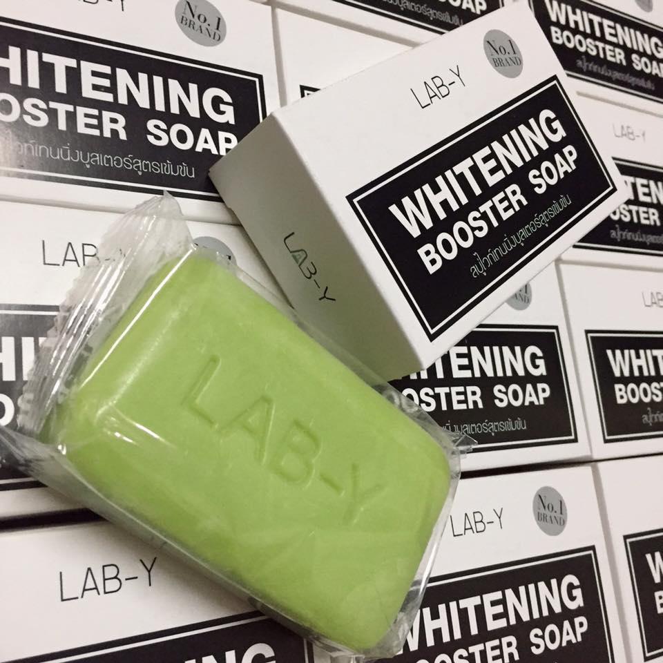 สบู่แลปวาย (Lab-Y Whitening Booster Soap)