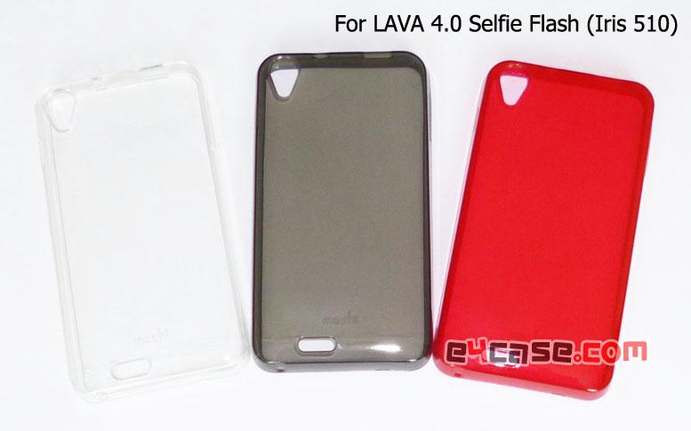 เคส Lava 4.0 Selfie Flash (Ais Iris 510) - เคสยางเนื้อใส