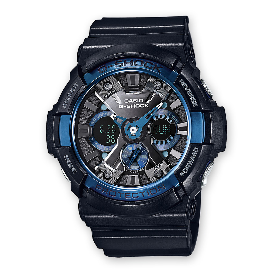 นาฬิกา คาสิโอ Casio G-Shock Limited Models Cool Blue CB Series รุ่น GA-200CB-1A สินค้าใหม่ ของแท้ ราคาถูก พร้อมใบรับประกัน