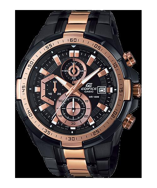 นาฬิกา คาสิโอ Casio Edifice Chronograph รุ่น EFR-539BKG-1AV สินค้าใหม่ ของแท้ ราคาถูก พร้อมใบรับประกัน