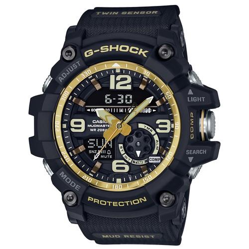 นาฬิกา คาสิโอ Casio G-Shock Mudmaster Twin Sensor รุ่น GG-1000GB-1A สินค้าใหม่ ของแท้ ราคาถูก พร้อมใบรับประกัน สำเนา