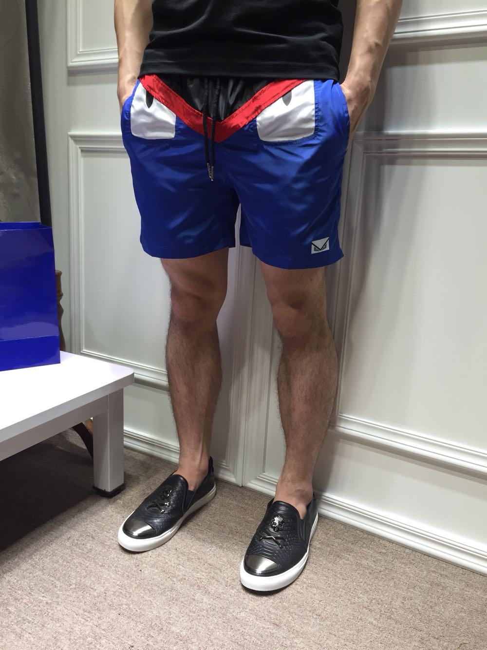 กางเกงขาสั้น Fendi Monster [1]