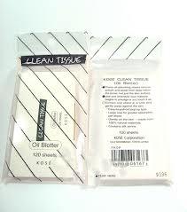 Kose Clean Tissue Oil Blotter 120 Sheets กระดาษซับมันจากเยื่อไผ่ ซับได้หมดจด ไม่ตกค้าง