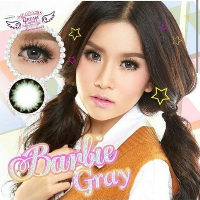 Barbie Gray Dreamcolor1เลนส์นิ่มใส่สบาย คอนแทคเลนส์ ขายส่งคอนแทคเลนส์ ขายส่งBigeye Bigeyeเกาหลี